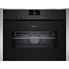 Neff C87fs32h0 Compact 60 cm oven - stainless steel and black