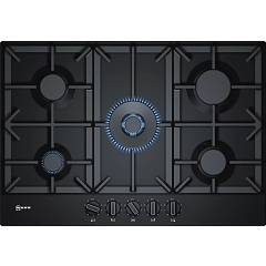 Neff T27ds59s0 Gas hob cm. 75 - black stainless steel