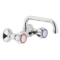 Nobili Nz06003/4zcr Tap kuhinja wall - chrome