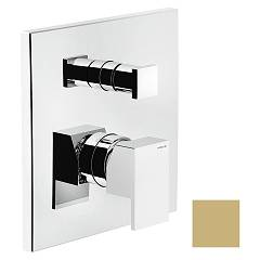 Nobili Mi102100/egm Wall-mounted shower mixer - 2-way champagne Mia