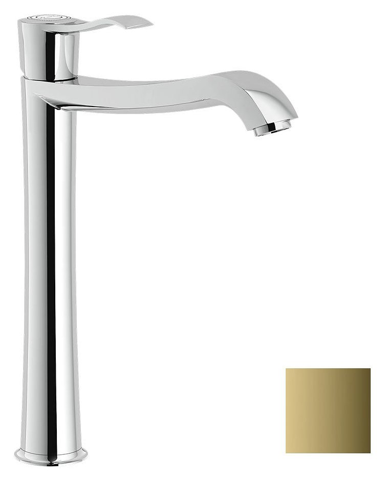 Photos 1: Nobili SI98128/2GD Sofì Basin mixer with basin - royal gold