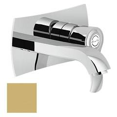 Nobili Si98198gm Wall-mounted sink mixer - champagne Sofì