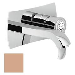 Nobili Si98198pm Wall-mounted sink mixer - soft rosé Sofì