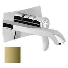 Nobili Si98198/1gd Wall-mounted sink mixer - royal gold Sofì