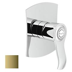 Nobili Si98108gd Wall-mounted shower mixer - royal gold Sofì