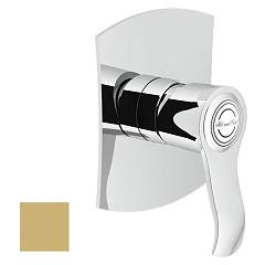 Nobili Si98108gm Wall-mounted shower mixer - champagne Sofì