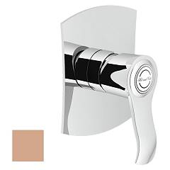 Nobili Si98108pm Wall-mounted shower mixer - soft rosé Sofì
