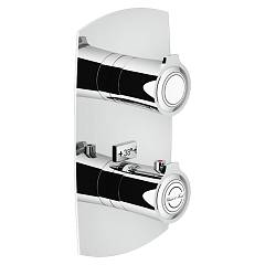 Nobili Si98101cr Thermostatic wall-mounted shower mixer - 1-way chromed Sofì