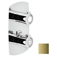 Nobili Si98101gd Tuš mešalnik wall-mounted thermostatic - royal gold 1 way Sofì