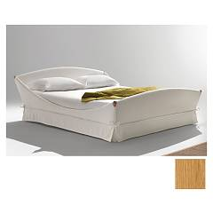 Noctis Lullaby Romantic Single padded bed natural