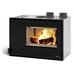 Nordica High Pressure 80 Insert wood-burning hot-air duct - 8 kw 80 cm. Inserti Crystal
