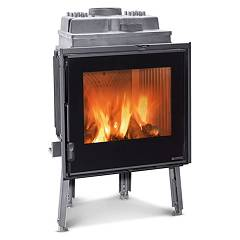 Nordica Focolare 60 Piano Evo Wood-burning firebox, hot air natural convection 9 kw Focolari