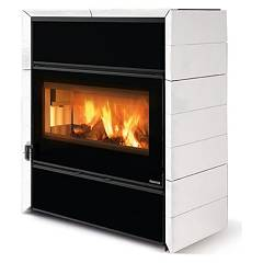 sale Nordica Fly Idro Dsa Wood Stove For Water Heating 15 Kw - White Infinity Steel Lining