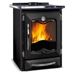 Nordica Termocucinotta Evo Dsa Wood heating stove for water heating 17 kw - black cast iron covering Termostufe