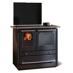 Nordica Termosovrana Dsa Wood cooking for water heating 14 kw - black anthracite steel covering Termocucine