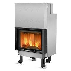 Nordica Termocamino Wf Plus Dsa Wood burning fireplace for water heating 21 kw cast iron coating Termocamini