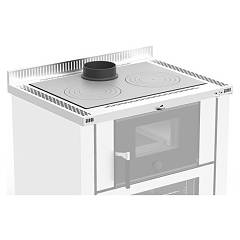 Nordica 7046201 Top kitchens h4 cm. verona - stainless steel