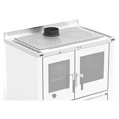 Nordica 7046302 Top kitchens h4 cm. padova - stainless steel