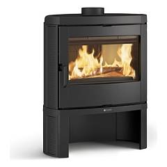 Nordica Jennifer Wood stove with hot air natural convection 7.5 kw - cast iron