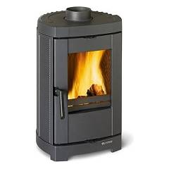 Nordica Brigitta Gb Natural wood heating stove with natural convection 4.7 kw - cast iron