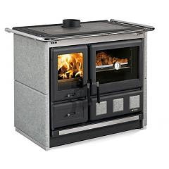 Extraflame Nordica Rosa Xxl - Petra Wood stove hot air natural convection 8.5 kw - natural stone cladding