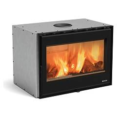 Extraflame Nordica 80 Wide Wood insert cm. 80 kw 7.5 hot air natural convection - cast iron and nordiker