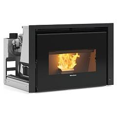 Extraflame Nordica Comfort P85 Plus Insert à pellets cm. 82 air chaud gainé 12 kw - fonte
