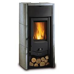 Nordica Asia Bii Holzherd hot air natural convection 6 kw - naturstein natursteinverkleidung