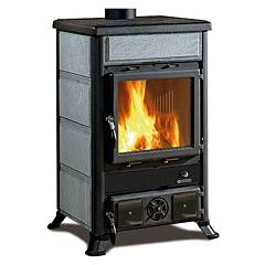 Nordica Rossella R1 Bii Holzherd hot air natural convection 9 kw - naturstein natursteinverkleidung