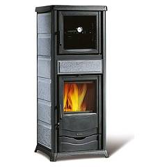 Nordica Rossella Plus Forno Evo Holzherd hot air natural convection 9 kw - naturstein natursteinverkleidung