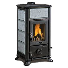 Nordica Dorella L8 X Holzherd hot air natural convection 7 kw - naturstein natursteinverkleidung