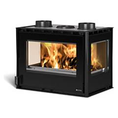 Nordica Crystal 3 Lati 70 Wooden insert hot air natural convection - 10 kw 70 cm.
