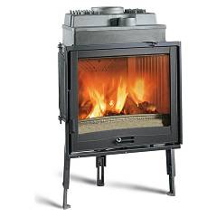 Nordica Focolare 70 Piano Wood-burning firebox, hot air natural convection 9 kw Focolari