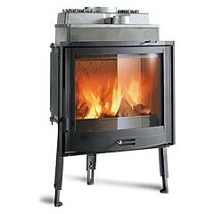 Nordica Focolare 70 Tondo Wood-burning firebox, hot air natural convection 9 kw Focolari