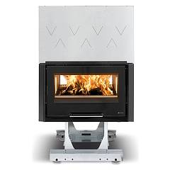 sale Nordica Focolare 80 Bifacciale Hybrid Wood-burning Firebox, Hot Air Natural Convection And 10 Kw