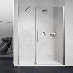 Novellini Young 2.0 G+f In Linea Nic extensibility box cm. 167 - 171 1 swing door h 200 + 1 fixed in line