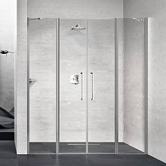 Novellini Young 2.0 2a Nic extensibility box cm. 167 - 171 2 hinged doors h 200 + 2 fixes in line