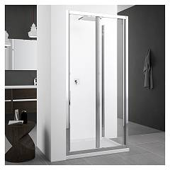 Novellini Zephyros S In/out Nic extensibility box cm. 86 - 92 1 bellow door h 195 safety opening