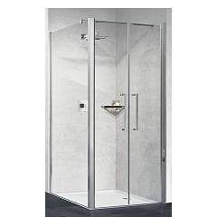 Novellini Basic Young 2b Corner box h 200 - 2 hinged doors + fixed side