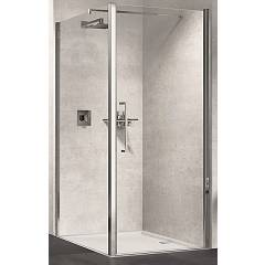 Novellini Basic Young 1b Corner box h 200 - 1 hinged door + fixed side