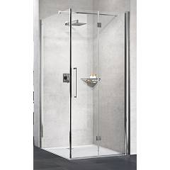 Novellini Young 2gs+f Corner box h 200 - 1 folding door + fixed side