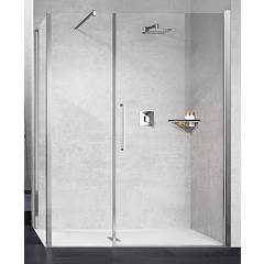 Novellini Young G+f In Linea+f Corner box h 200 - 1 hinged door + fixed side