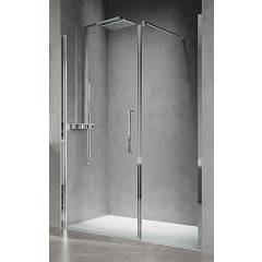 Novellini Young Plus G+f In Linea Niche box h 200 - 1 hinged door