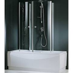 Novellini Aurora 4 Bathscreen cm. 70 2 door folding