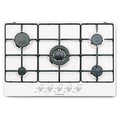 Outlet Schock Gas cooking top cm. 75 - polaris extra white pc75av - sts85599 silver - anticate knobs Polaris