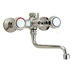 Outlet Crolla Kitchen faucet wall mount, with the washing machine - chrome 440 - falcon Falcon