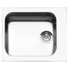 Outlet Smeg Sink built cm. 58 - inox dawn - vs45-p3 Alba