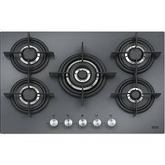 Outlet Franke Gas hob cm. 75 - mirror black fhcr 755 4g tc he xs c - crystal steel - 106.0374.285 Crystal Steel