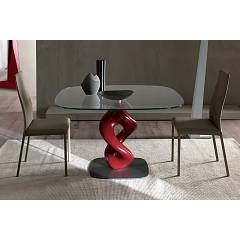 sale Ozzio T247 Liquid Fixed Table, Square L. 130