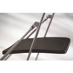 Photos 7: Ozzio Folding chair in metal and polypropylene S260 NOBYS